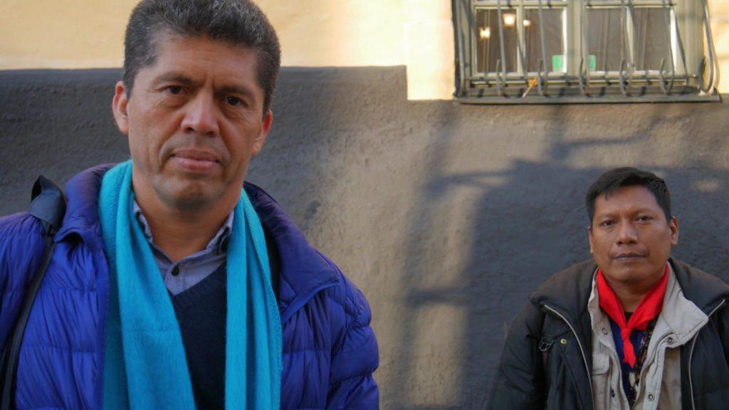 Pablo Fajardo och Willian Lucitante