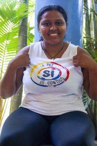Karen Cañas, 22 år från Colombia