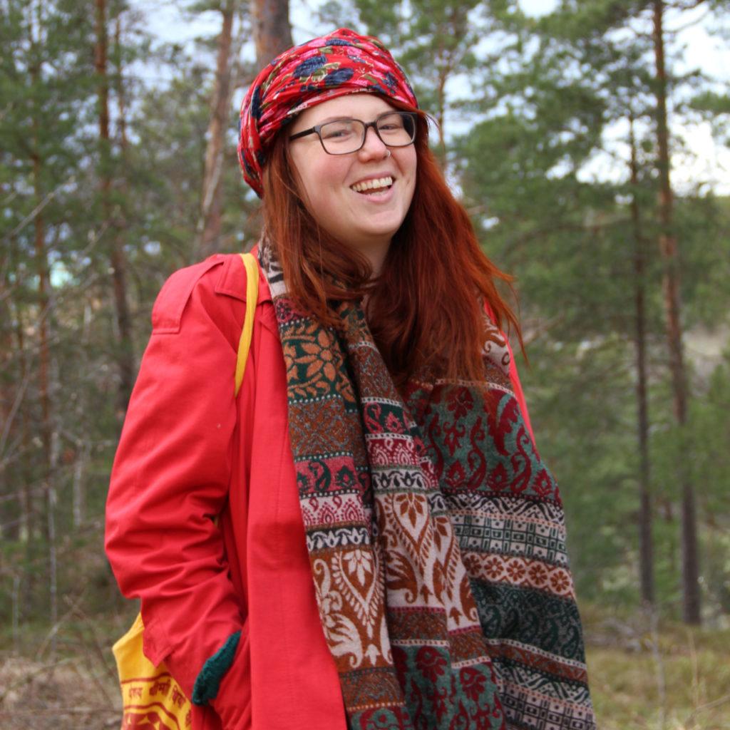 Arci Pasanen. Foto: Anna Nylander