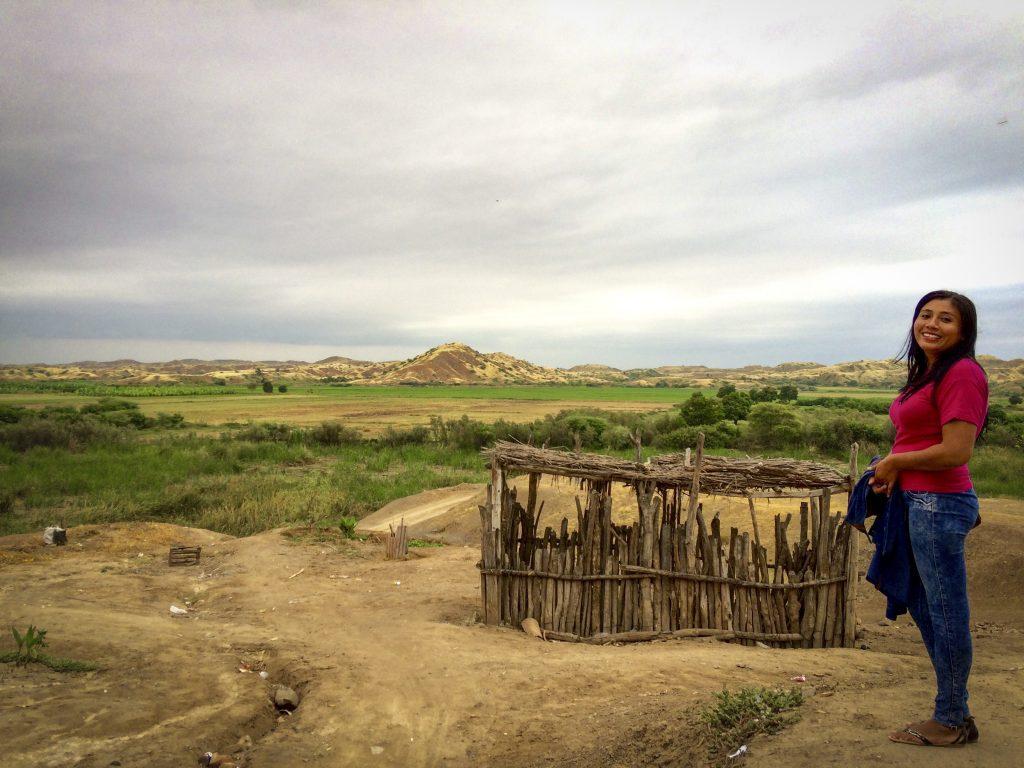 Borgmästarkandidaten Vicky Jovani Peña Gonzales, Peru Foto: Sori Lundqvist