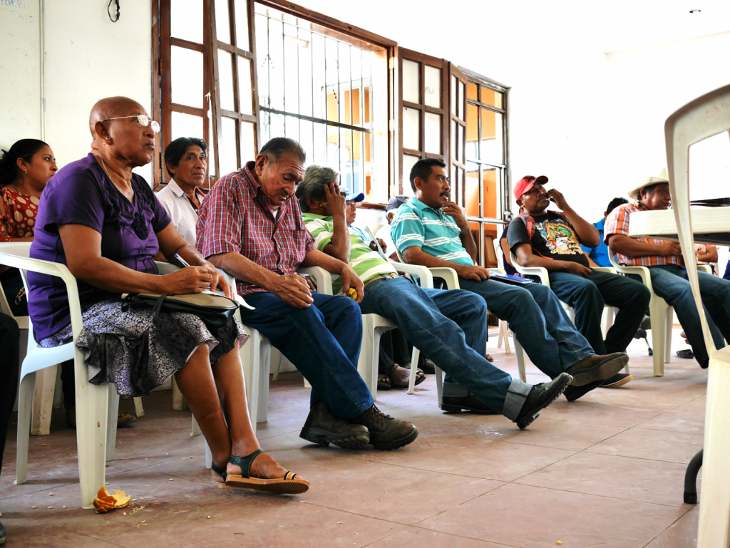 Organisationen Ma OGM har workshop i Hopechén. Foto: Lari Honkanen
