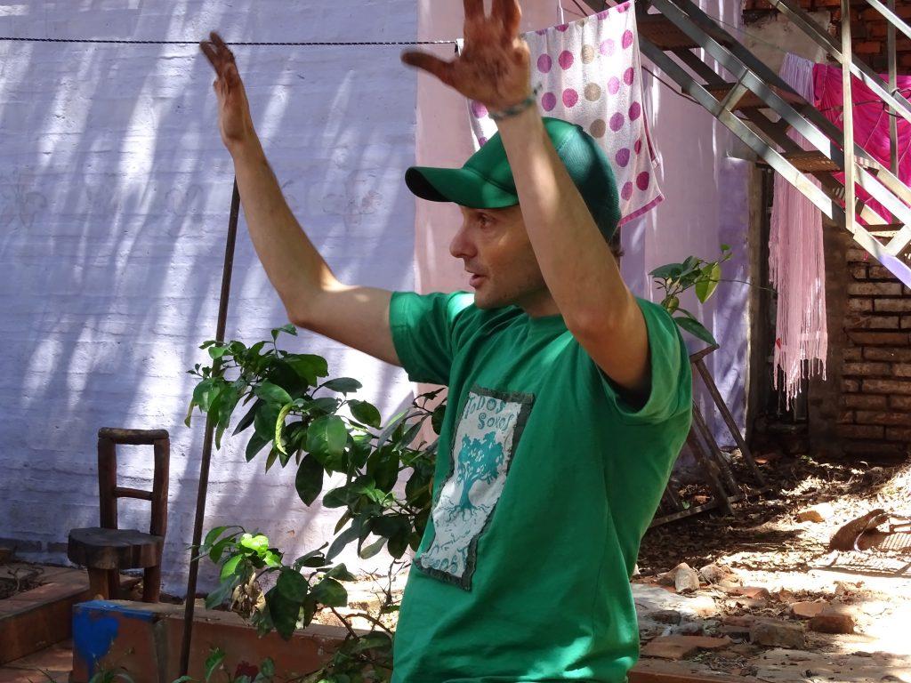 Vicente Lubrano Lavadera, Conamuri, Asuncion, Paraguay. Foto: Sori Lundqvist
