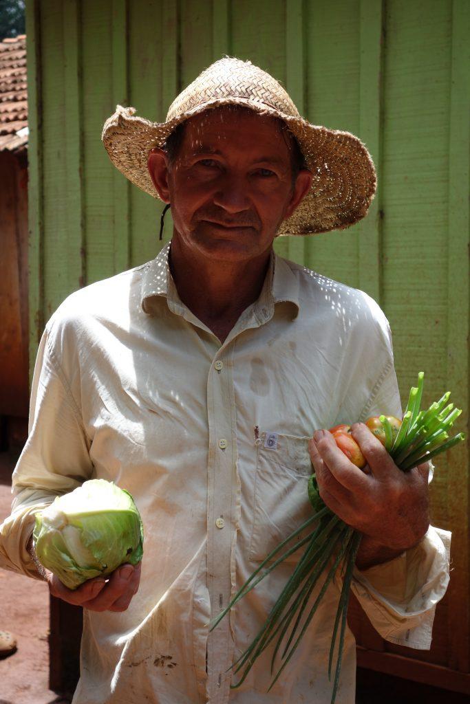 Lorenzo inledde sin kamp för jord när det fortfarande rådde militärdiktatur i Paraguay. Landet har sedan dess inlett en demokratiseringsprocess, men problemet med jorduppdelningen kvarstår. Foto: Maja Heide