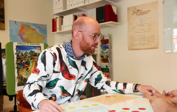Markus Malm, verksamhetsledare Foto: Sori Lundqvist
