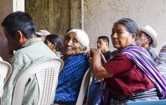 Deltagare på kurs om ILO169 som arrangerades av Waqib'Kej i Guatemala. Foto: Sori Lundqvist