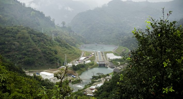 Vattenkraftverket Hidro Xacbal Delta, Guatemala.