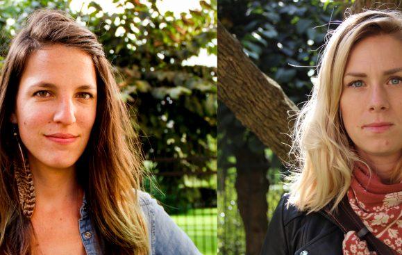Itza Orozco Svensson och Sanna Lucas. Foto: Sori Lundqvist