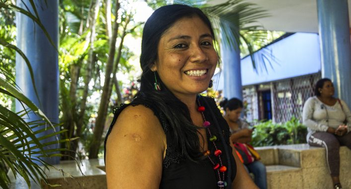 Vicky Peña Gonzales, Peru. Foto: Sori Lundqvist