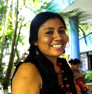 Vicky Peña Gonzales från Peru. Foto Sori Lundqvist.