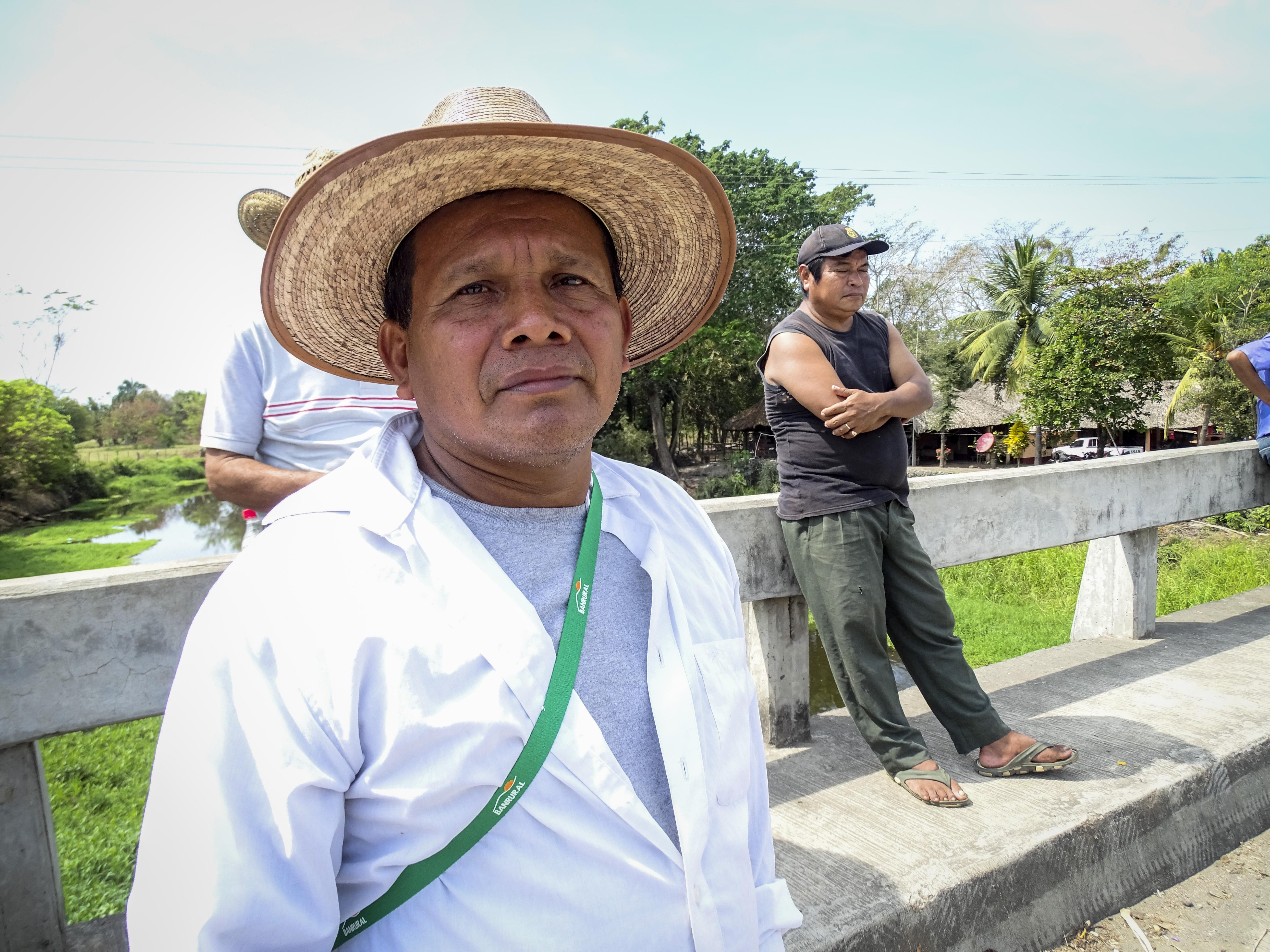 Småbrukaren Jaime Alvarado, Carrizales, Costa sur, Guatemala Foto: Sori Lundqvist