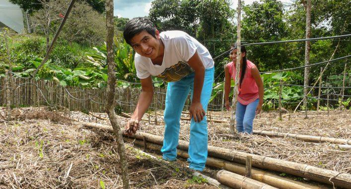 Neiro Andres Quiñones Zuñiga, 19 år. Foto: Hanna Helander