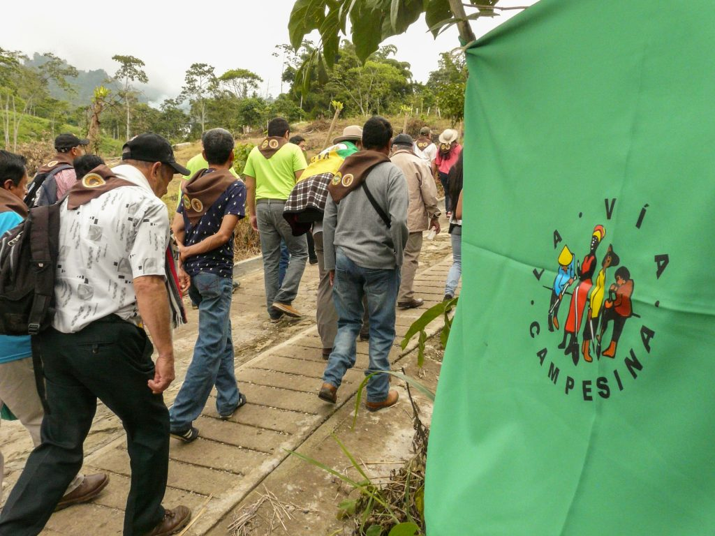 Utbildningen drivs av småbrukarnätverket Cloc/La Vía Campesina. Foto: Hanna Helander
