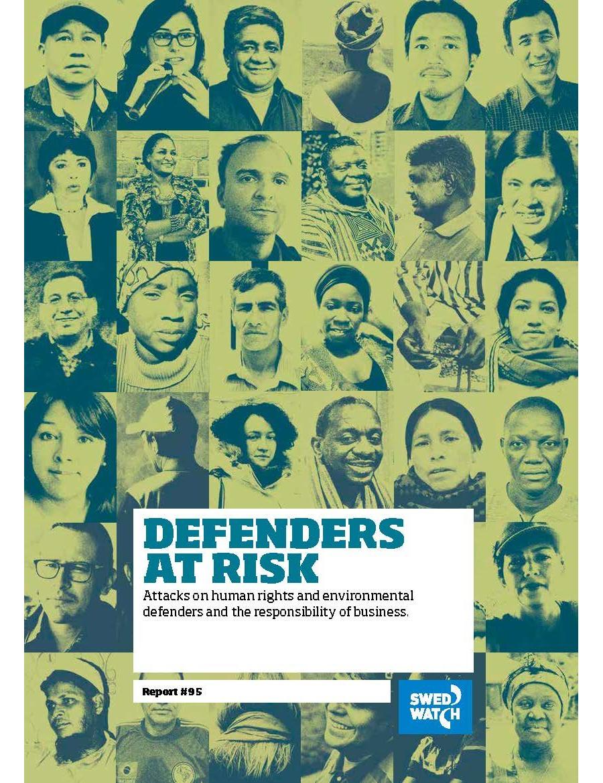 Rapport: Defenders at risk